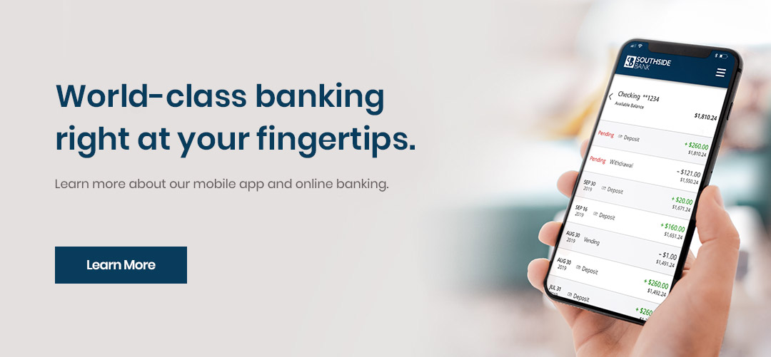 World-class banking at your fingertips